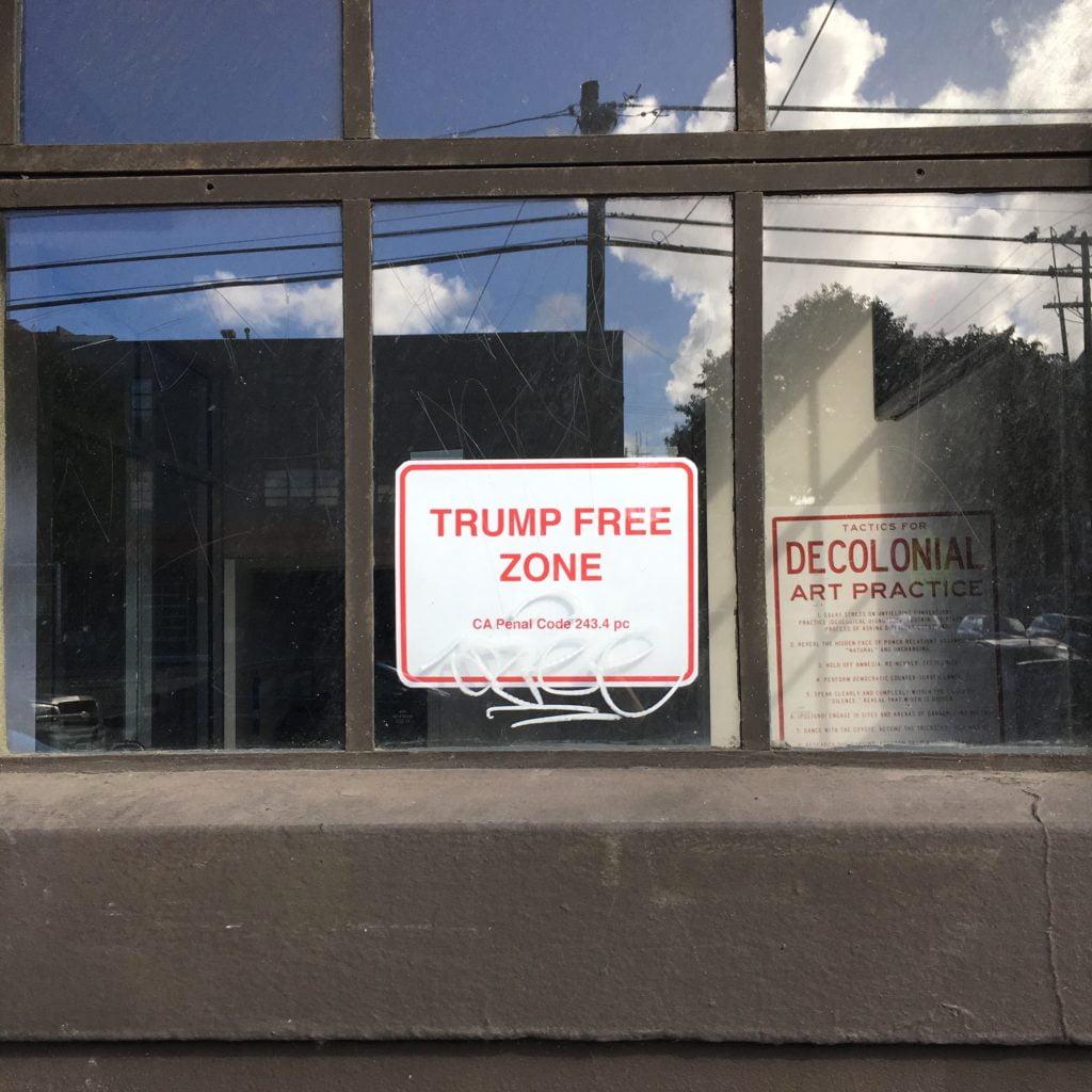 trump free zone