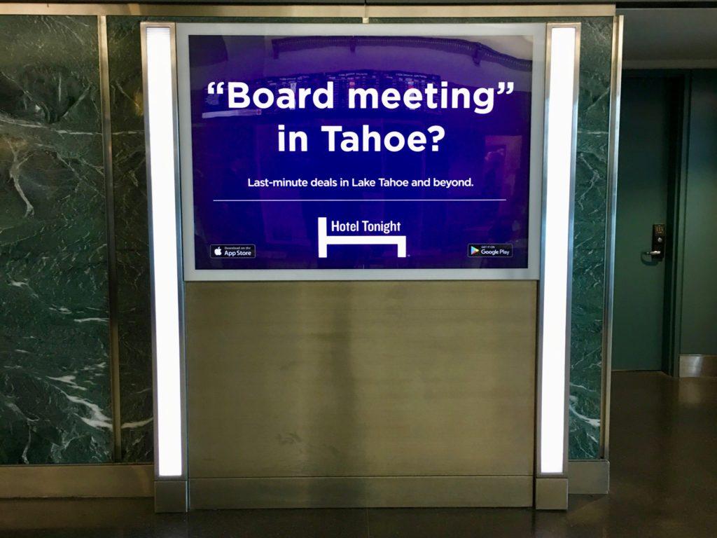 board meeting in tahoe?